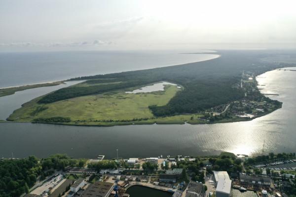 Wyspa Sobieszewska, część zachodnia