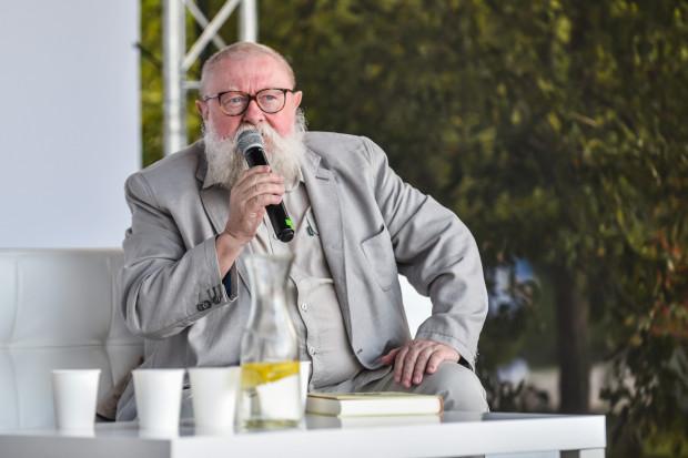 Prof. Jerzy Bralczyk.