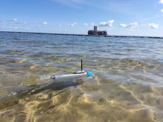 Pływający dron stworzony w ramach projektu Nerpa zdolny jest do realizowania misji samodzielnie lub w zespole identycznych pojazdów.