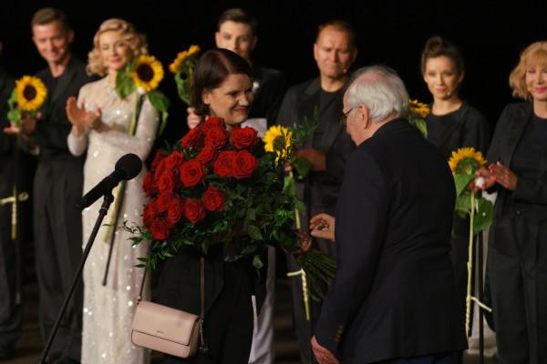 Wiceprezydent Gdyni dziękuje Wojciechowi Zielińskiemu za owocne lata zarządzania teatrem.