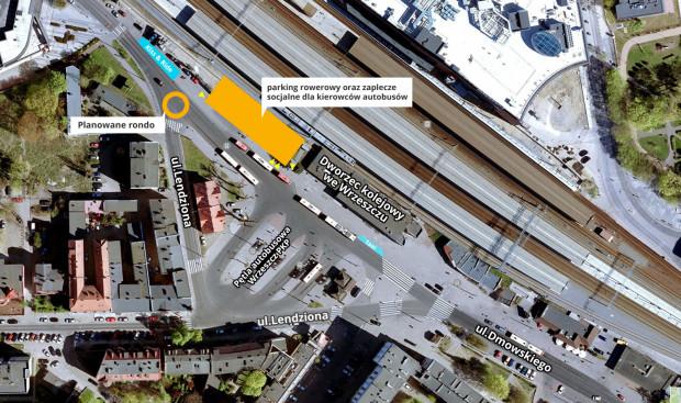 Parking będzie zlokalizowany tuż obok dworca po stronie Galerii Bałtyckiej.