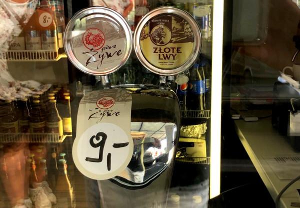 Poniżej 10 zł wypijemy piwo w Barze Bosmana w Stoczni Cesarskiej.