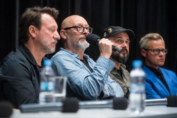 Wojciech Smarzowski (na zdj. podczas FPFF w 2018 roku) tym razem nie pokaże najnowszej produkcji na festiwalu w Gdyni. Widzowie muszą więc czekać do oficjalnej premiery, którą wyznaczono na 8 października.