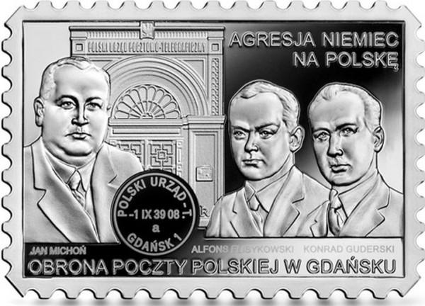 Rewers kolekcjonerskiej monety, która zostanie wyemitowana przez Narodowy Bank Polski 1 września.