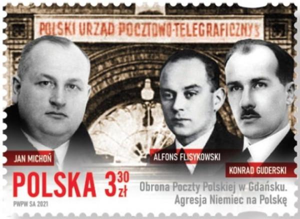 Wzór znaczka, który zostanie wyemitowany przez Pocztę Polską.