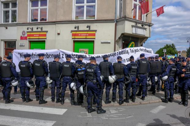 Podobnie jak w ubiegłych latach, tak i tym razem, policja będzie oddzielać uczestników Marszu Równości od kontrmanifestantów.