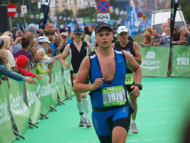 Grzegorz Perzyński 19 lat po przeszczepieniu wątroby, wystartował na pełnym dystansie Ironmana.