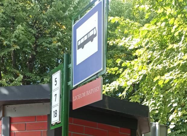 """Przystanek, który pojawił się przy Politechnice Gdańskiej, nazywa się """"Liceum Batorego""""."""