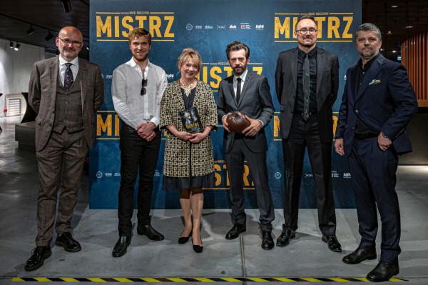 """Pokaz przedpremierowy filmu """"Mistrz"""" w Muzeum II Wojny Światowej w Gdańsku"""