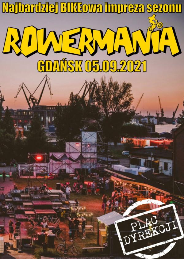 Plakat wydarzenia Rowermania