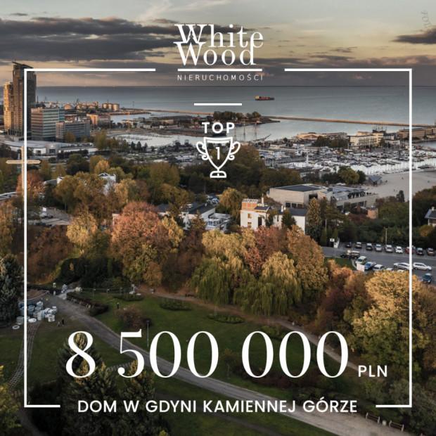 Najdroższa transakcja White Wood Nieruchomości w minionym półroczu dotyczyła domu na Kamiennej Górze w Gdyni.