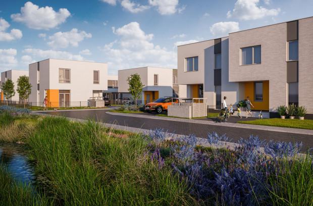 Osiedle Optima przy ulicy Stężyckiej to wieloetapowe osiedle mieszkaniowe. Teraz do sprzedaży wprowadzono tutaj także domy jednorodzinne. Ich ceny zaczynają się od 920 tys. zł.