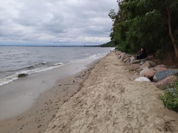 Spacery po plaży w Orłowie stają się coraz bardziej niebezpieczne.