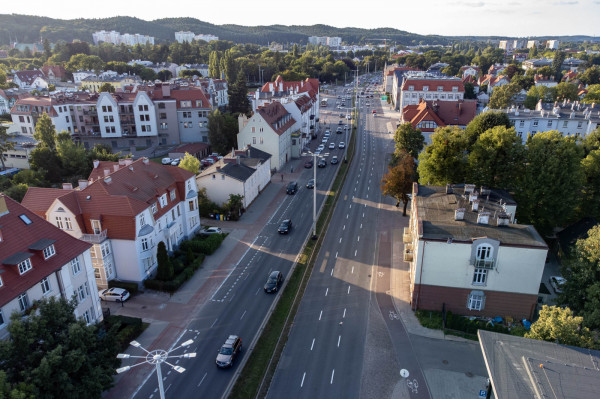 W przyszłym roku nowa nawierzchnia pojawi się na al. Grunwaldzkiej w Oliwie (w kierunku Sopotu).