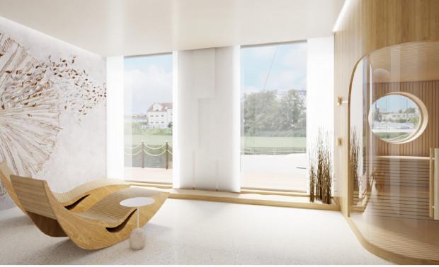 Jak przystało na inspirowaną Skandynawią aranżację hotelu, goście będą mieli do dyspozycji m.in. sauny.