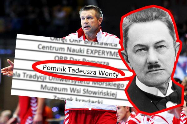 Tadeusz Wenda, twórca gdyńskiego portu, ma swój pomnik  w Gdyni. Szczypiornista Bogdan Wenta na takie upamiętnienie wciąż czeka.