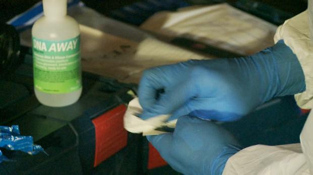 Zabezpieczone próbki są badane w laboratoriach.