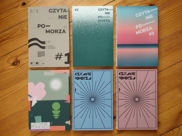 """""""Czytanie Pomorza"""" to nie tylko pięć tomów przewodnika, ale i cała kolekcja wydawnictw."""