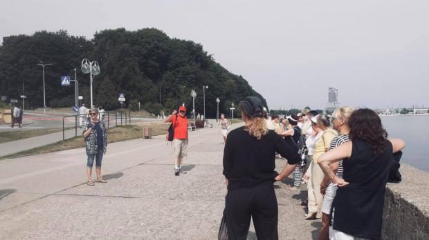 Spacery po Gdyni również cieszą się sporym zainteresowaniem.