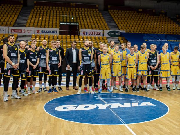 Trefl Sopot i Asseco Arka Gdynia inaugurują sezon 2021/22 w Energa Basket Lidze. Kadr pochodzi z ostatnich derbów Trójmiasta, w grudniu 2020 roku.