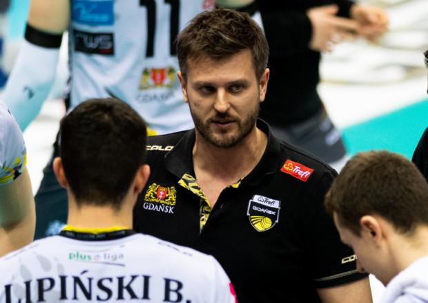 Trener Michał Winiarski ma kolejny materiał do analizy po sparingach Trefla Gdańsk w Elblągu.