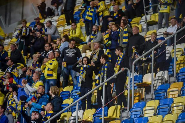 Wiele wolnych miejsc na Stadionie Miejskim. Właśnie tak wyglądały pierwsze domowe mecze Arki Gdynia w sezonie 2021/22.