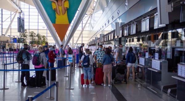 Lotnisko od początku roku obsłużyło już ponad milion pasażerów.