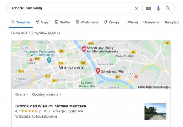Schodki nad Wisłą im Michała Matczaka również były atrakcją turystyczną Warszawy.
