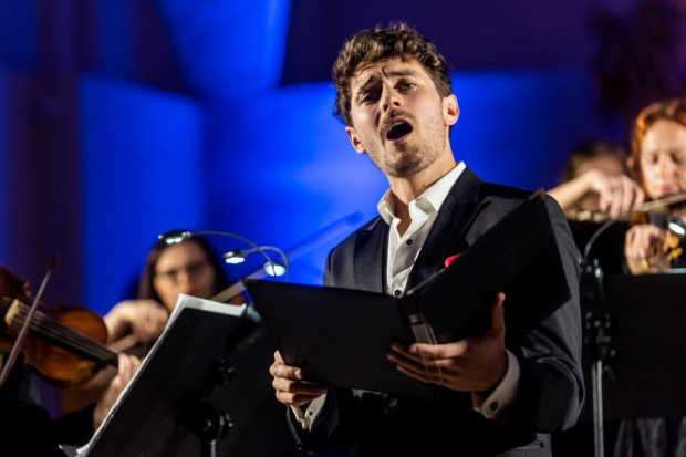Jakub Józef Orliński podbił serca publiczności podczas inauguracji 16. Festiwalu Goldbergowskiego.