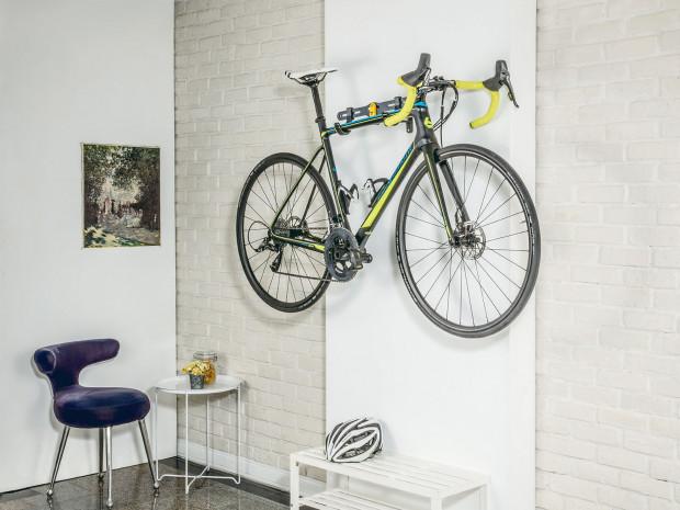Wszyscy domownicy mogą podziwiać rower