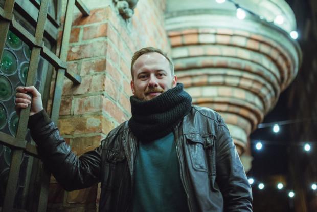 Michał Ślubowski, autor współpracujący z portalem Trojmiasto.pl, nominowany do Nagrody Literackiej Wiatr od Morza.