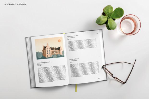 Przewodnik składa się z opisów 45 ikon architektonicznych Wrzeszcza.