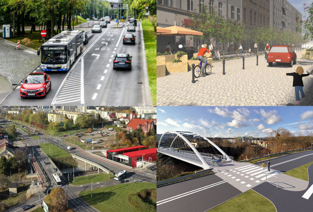 Budowa dróg i parkingu w ramach węzła Karwiny, remont Starowiejskiej, budowa kładki w Małym Kacku i inwestycje w drogi na Witominie to niektóre z planów Gdyni w 2022 roku.