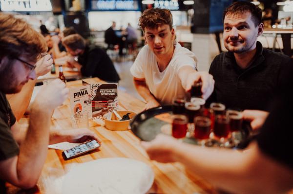 Stacjowy Septemberfest, czyli święto piwa w Stacja Food Hall w Gdańsku.