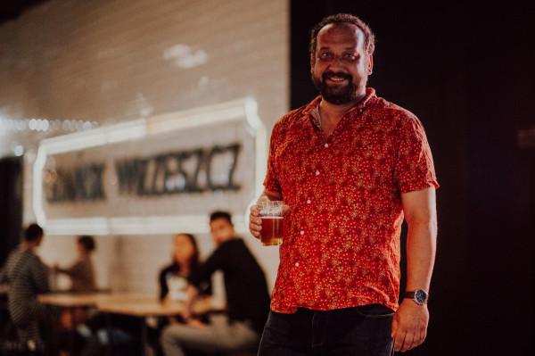 Tomasz Biegański, browarnik z Nowego Browaru Gdańskiego opowiadał o piwnych tradycjach Gdańska.