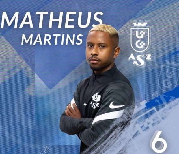 AZS UG Gdańsk z Matheusem Martinsem ma być spokojniejsza o utrzymanie w futsalowej ekstraklasie.