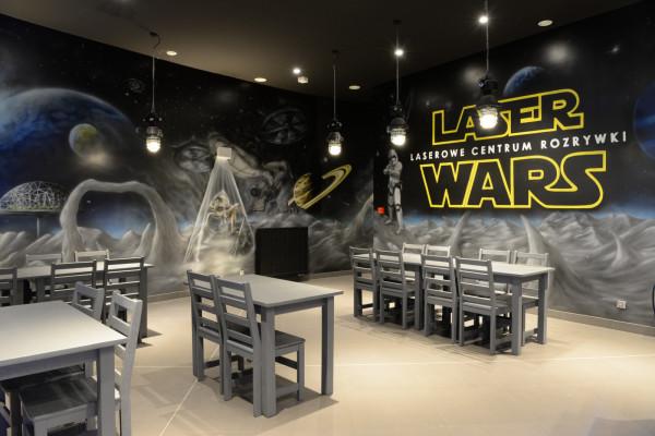 Laser Wars to największy obiekt tego typu w Polsce. Do dyspozycji graczy są cztery poziomy przygotowane w kosmicznej aranżacji.