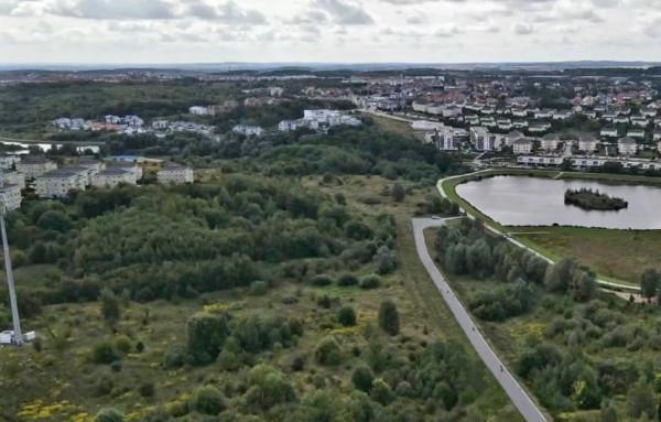 Teren, który obejmie nowy Park Południowy.