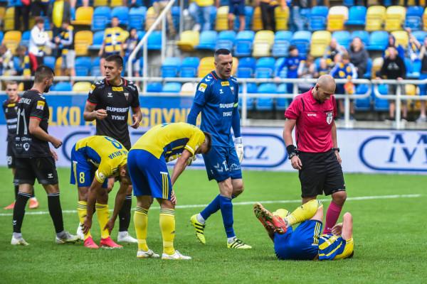 Arka Gdynia po raz trzeci z rzędu przegrała mecz z GKS Tychy, nie strzelając żadnego gola.
