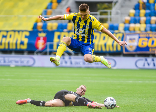 Maciej Rosołek wiosną pierwszego gola dla Arki Gdynia strzelił w drugim występie. Czy podobnie będzie i teraz?