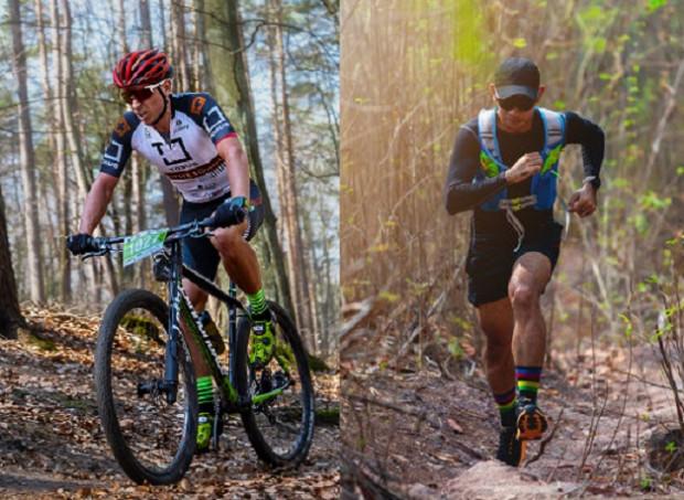 Jadąc rowerem lub biegnąc. Trasę wokół Pachołka można pokonać na dwa sposoby.