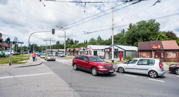 Skrzyżowanie ulic Nowowiczlińskiej i Rdestowej będzie przebudowane po zakończeniu prac na Trasie Kaszubskiej.