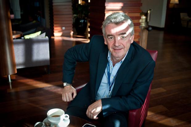 Prezes Ryanaira Michael O'Leary: - Proponowane podwyżki będą podwójnie szkodliwe dla polskiej sieci regionalnych połączeń powietrznych, nakładając najwyższy w Europie handicap kosztowy na regionalne porty lotnicze w stosunku do głównych lotnisk stołecznych.