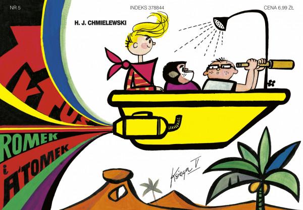 """""""Tytus, Romek i A`Tomek"""" to najdłużej ukazująca się polska seria komiksowa."""