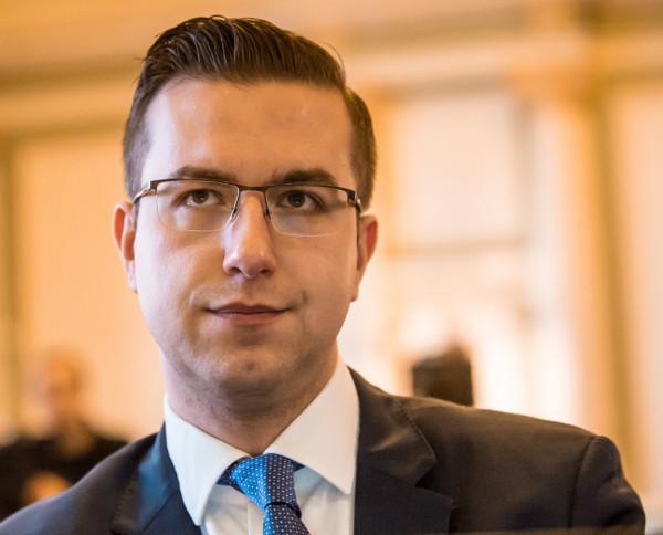 Cezary Śpiewak-Dowbór, szef klubu Koalicji Obywatelskiej.