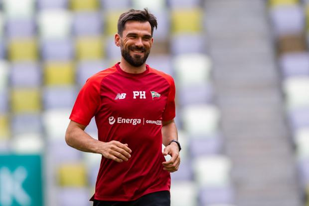 Paweł Habrat pracował z pierwszą drużyną Lechii Gdańsk od początku sezonu 2018/19.