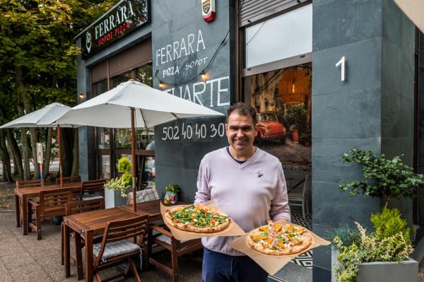 Pizzeria Ferrera w Sopocie