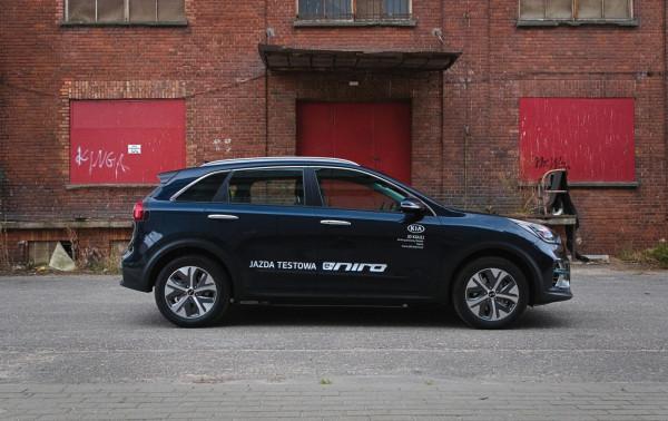 Elektryczna Kia e-Niro. Gdański magistrat zakupił ostatnio osiem takich samochodów.