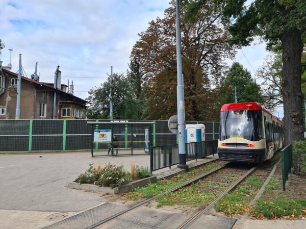 Zielone torowisko ma powstać między pętlą Brzeźno a ul. Południową.