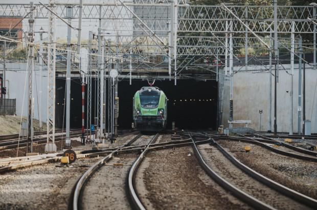 """Pociąg """"Łącząc Europę"""" przyjechał do Gdańska."""